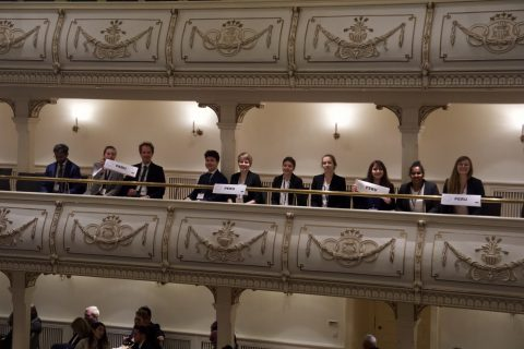 "Zum Artikel ""FAUMUN Alumni Delegation attended NMUN Germany in Erfurt"""